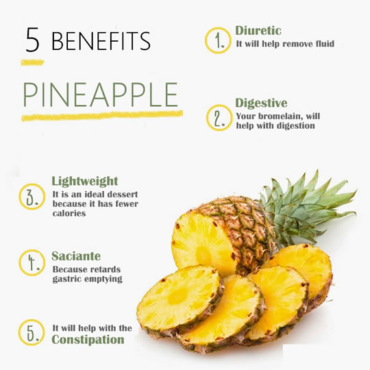 The Benefits Of Pineapple Are Enormous It Has A Good Reputation Of Being A Diuretic And Purifying Fruit That Helps Eliminate Toxins Through Urine